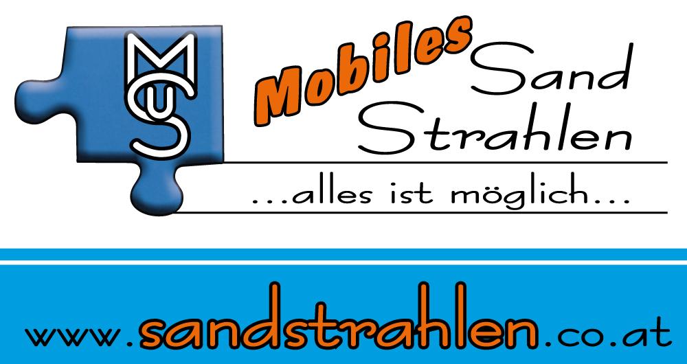 mobiles-Sand-Strahlen