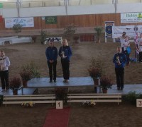 Siegerehrung beim CVI in Portogruaro