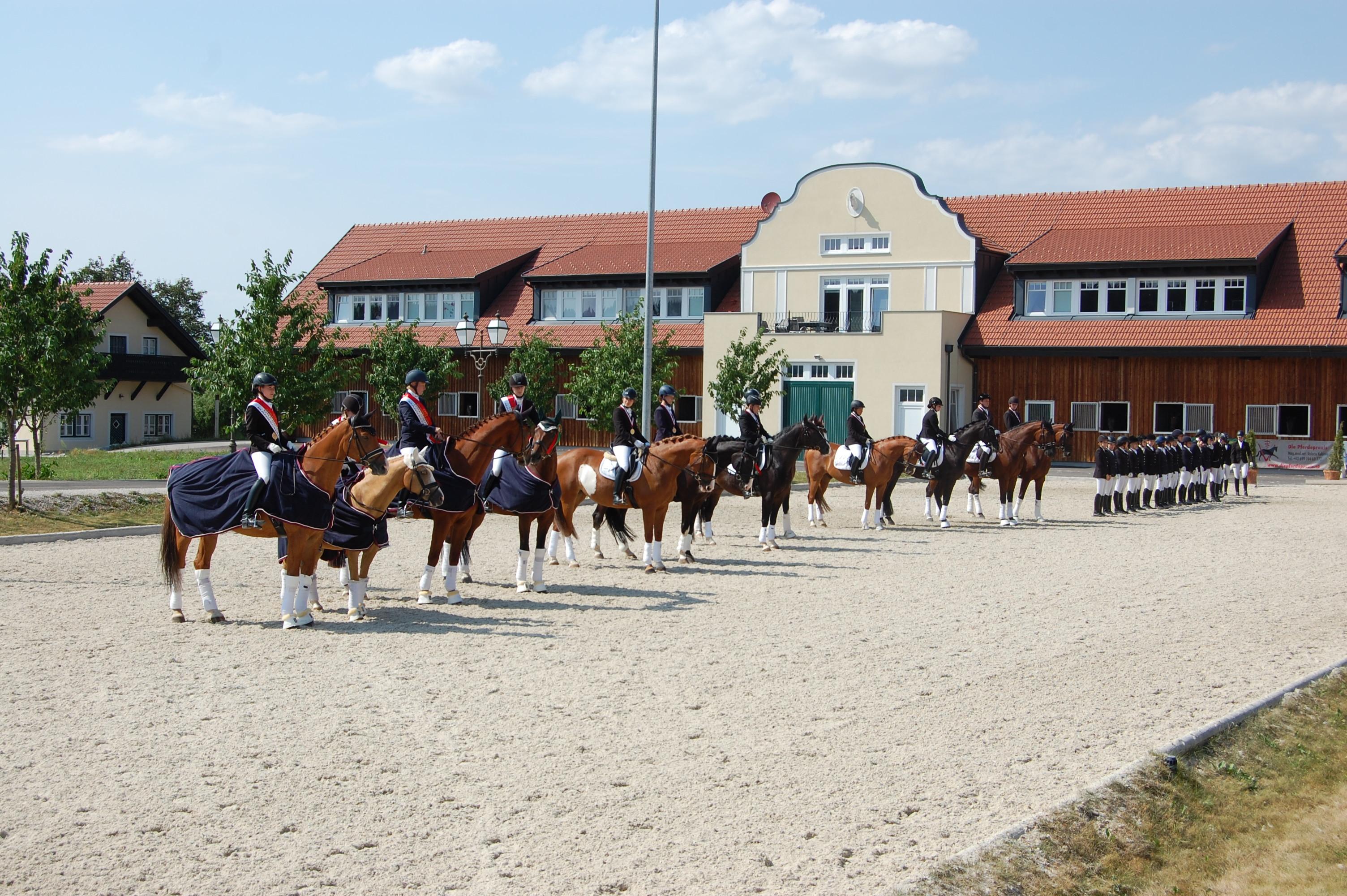 OÖ Mannschaftsmeisterschaften Dressur 2018 in Wels